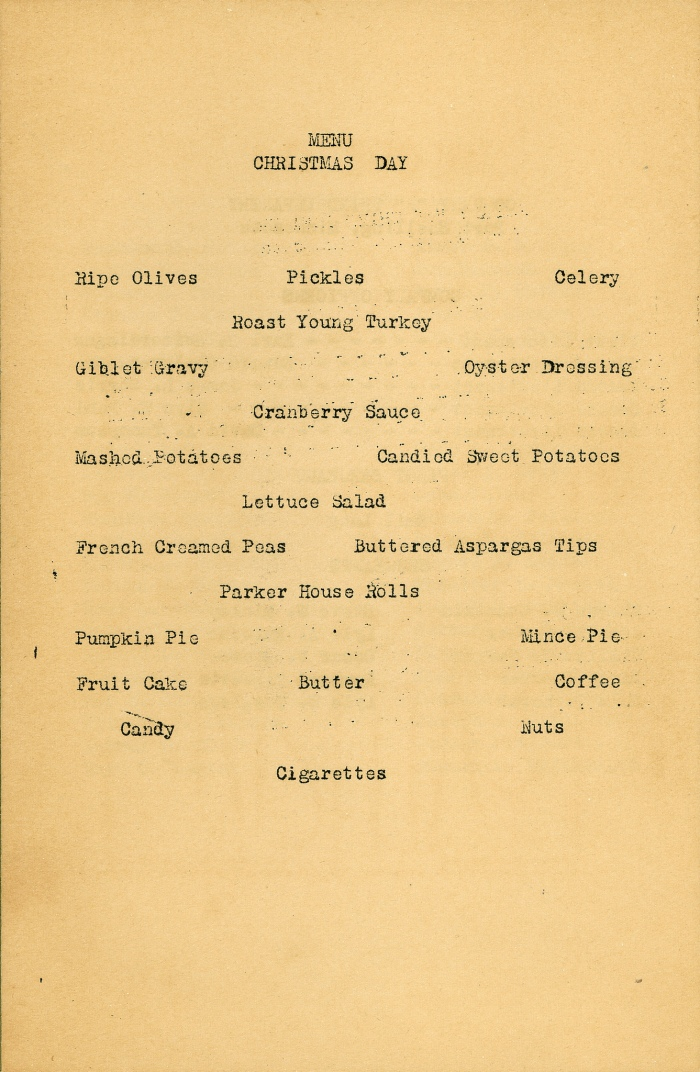A Look Back in Time: Vintage Christmas Menus-bcompany|classictasselsandmore.com