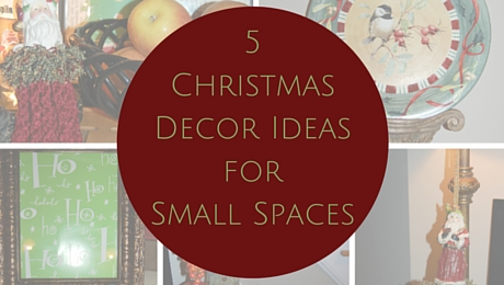 5 Christmas Decor Ideas for Small Spaces | www.classictasselsandmore.com
