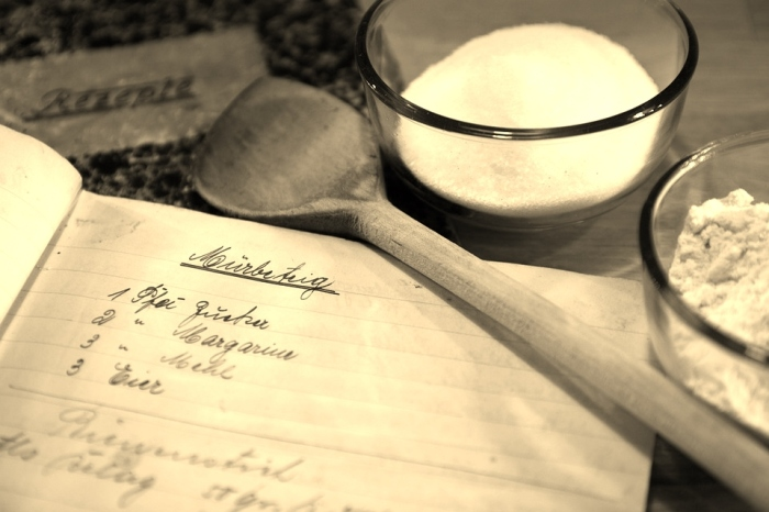 A Look Back in Time: Vintage Christmas Menus-baking|classictasselsandmore.com