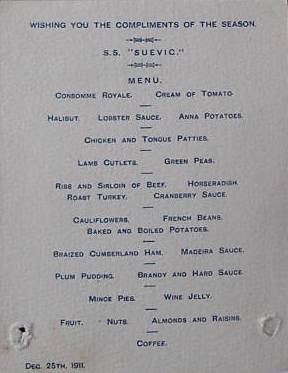 A Look Back in Time: Vintage Christmas Menus-suevic|classictasselsandmore.com