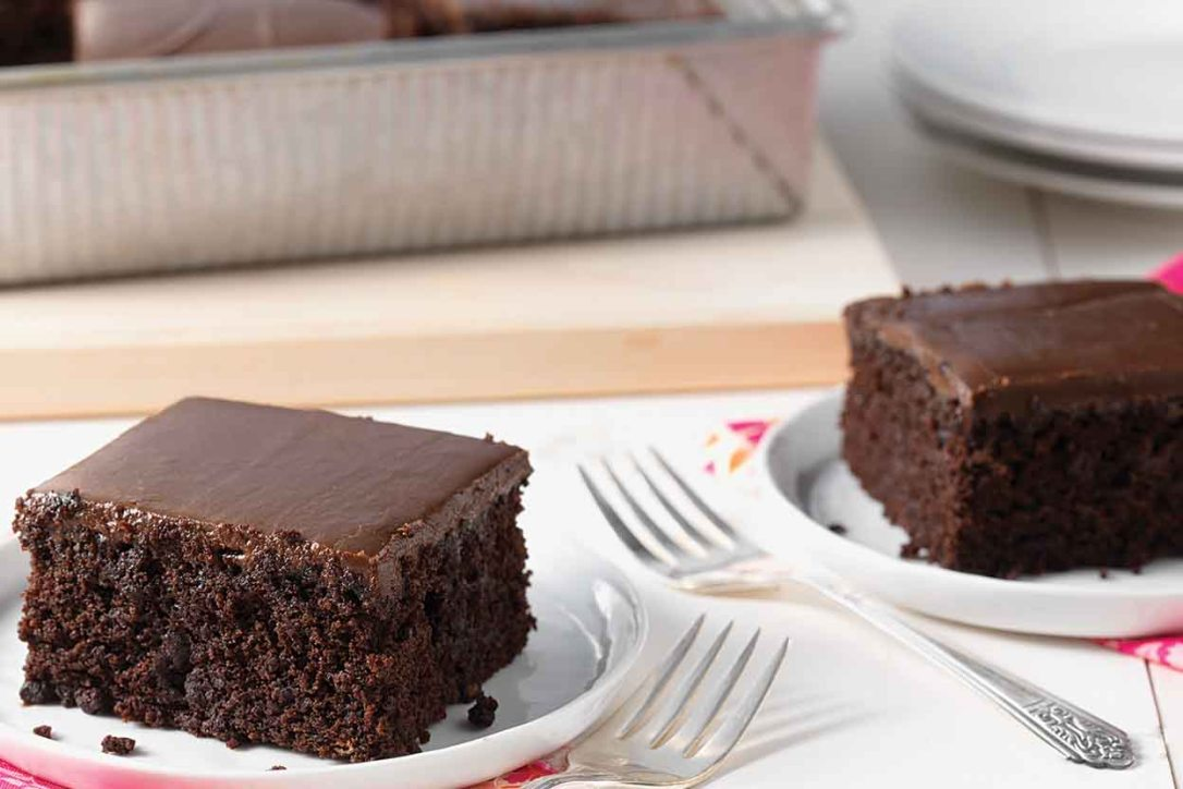 National Chocolate Cake Day: Which Cake Would You Bake?-Fudge Cake-KAF|classictasselsandmore.com