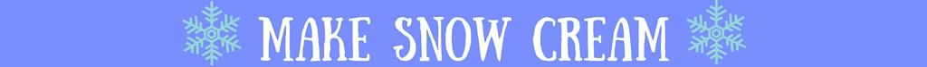 Make Snow Cream|classictasselsandmore.com