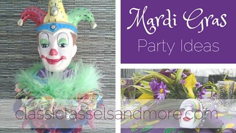Mardi Gras Party Ideas|classictasselsandmore.com