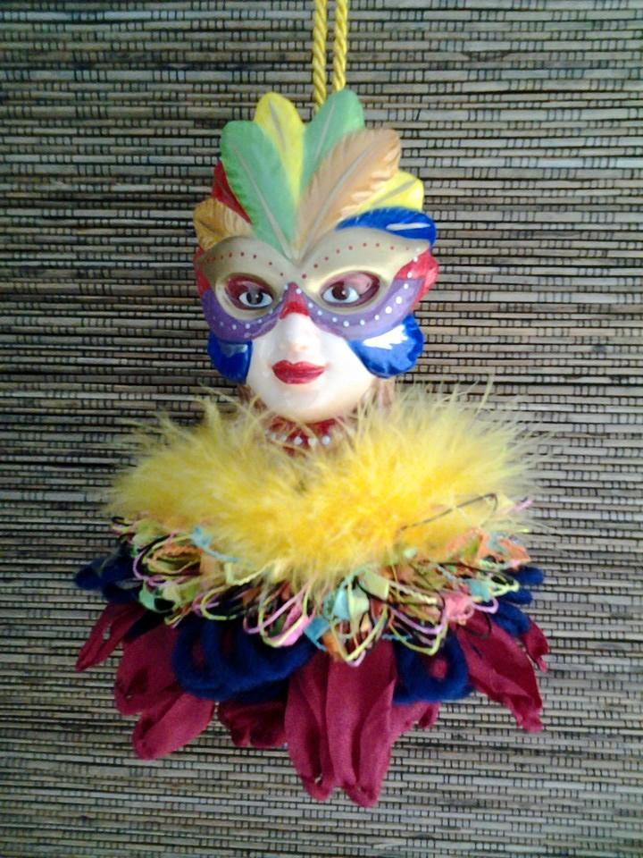 Masked Lady Tassel|classictasselsandmore.com
