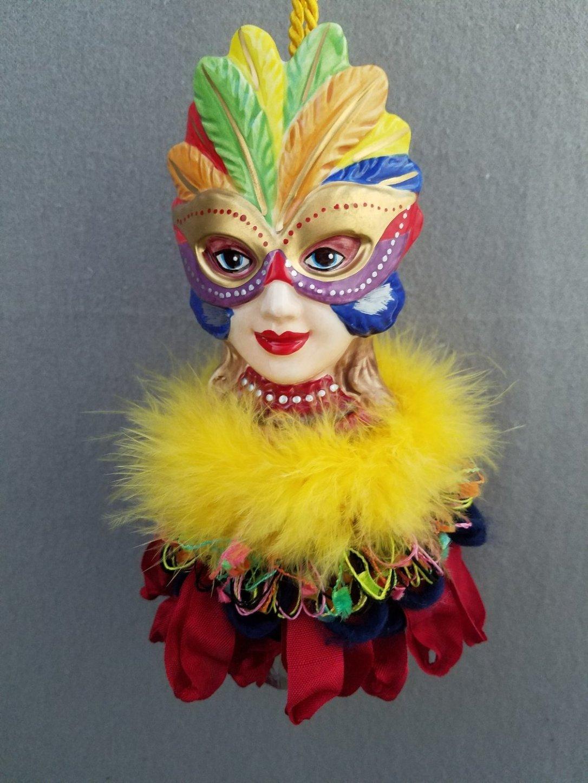 Masked Lady Tassel | www.classictasselsandmore.com