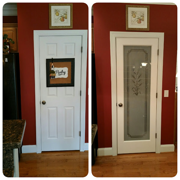 Before and After Pictures: A Frosted Pantry Door Update-After1|classictasselsandmore.com