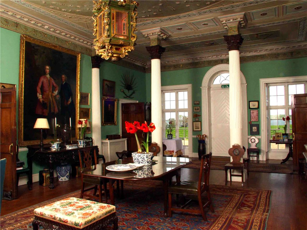 Home Tour: Glin Castle in County Limerick, Ireland7|classictasselsandmore.com