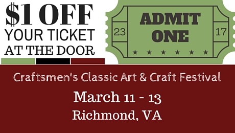 Craftsmens Classic Richmond Spring 2016 Coupon Cover|classictasselsandmore.com