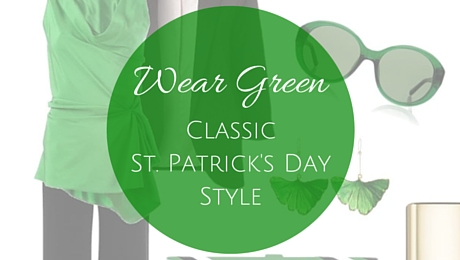 Wear Green: Classic St. Patrick's Day Style|classictasselsandmore.com