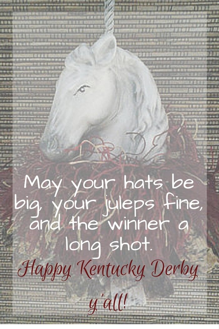 Happy Kentucky Derby | www.classictasselsandmore.com