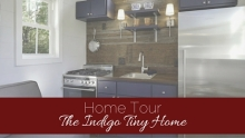 Home Tour: The Indigo Tiny Home|classictasselsandmore.com