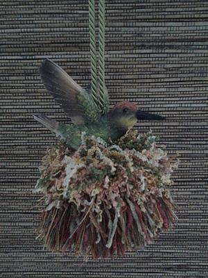 Hummingbird Three Tassel|classictasselsandmore.com