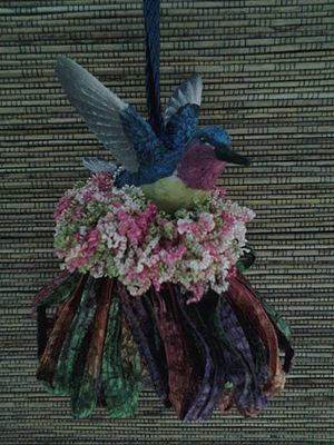 Hummingbird Two Tassel|classictasselsandmore.com