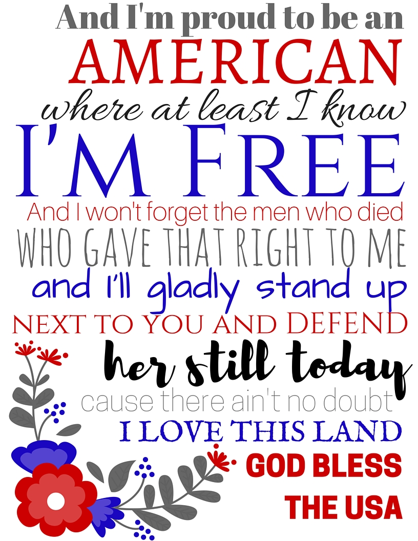 Memorial Day Free Printable | www.classictasselsandmore.com