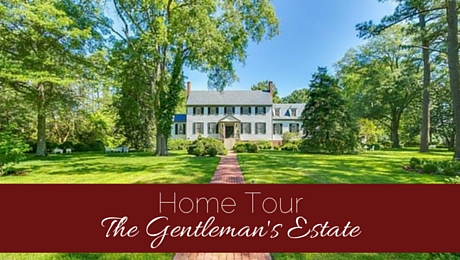 Home Tour: The Gentleman's Estate | www.classictasselsandmore.com