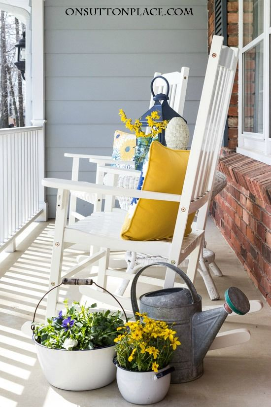 Spring into Summer Refresh Porch