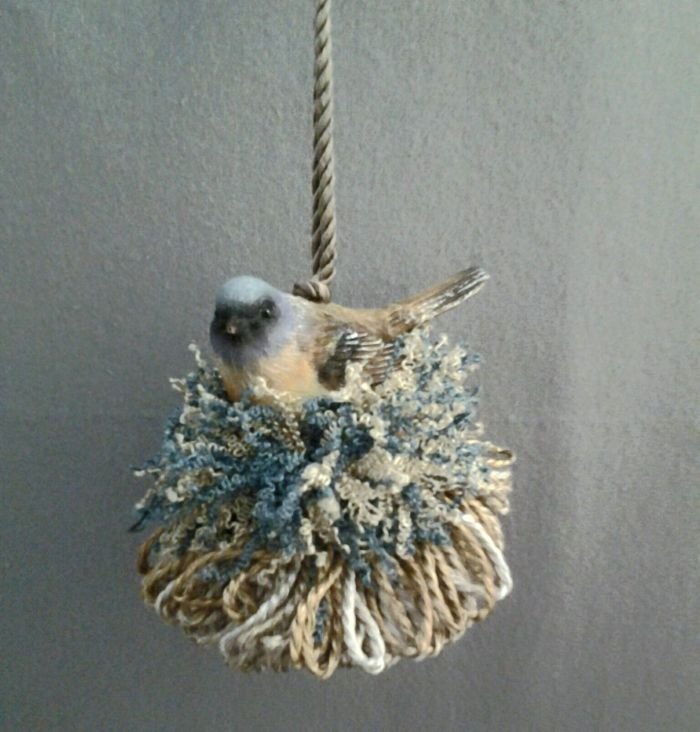 Western Blue Bird Tassel | www.classictasselsandmore.com