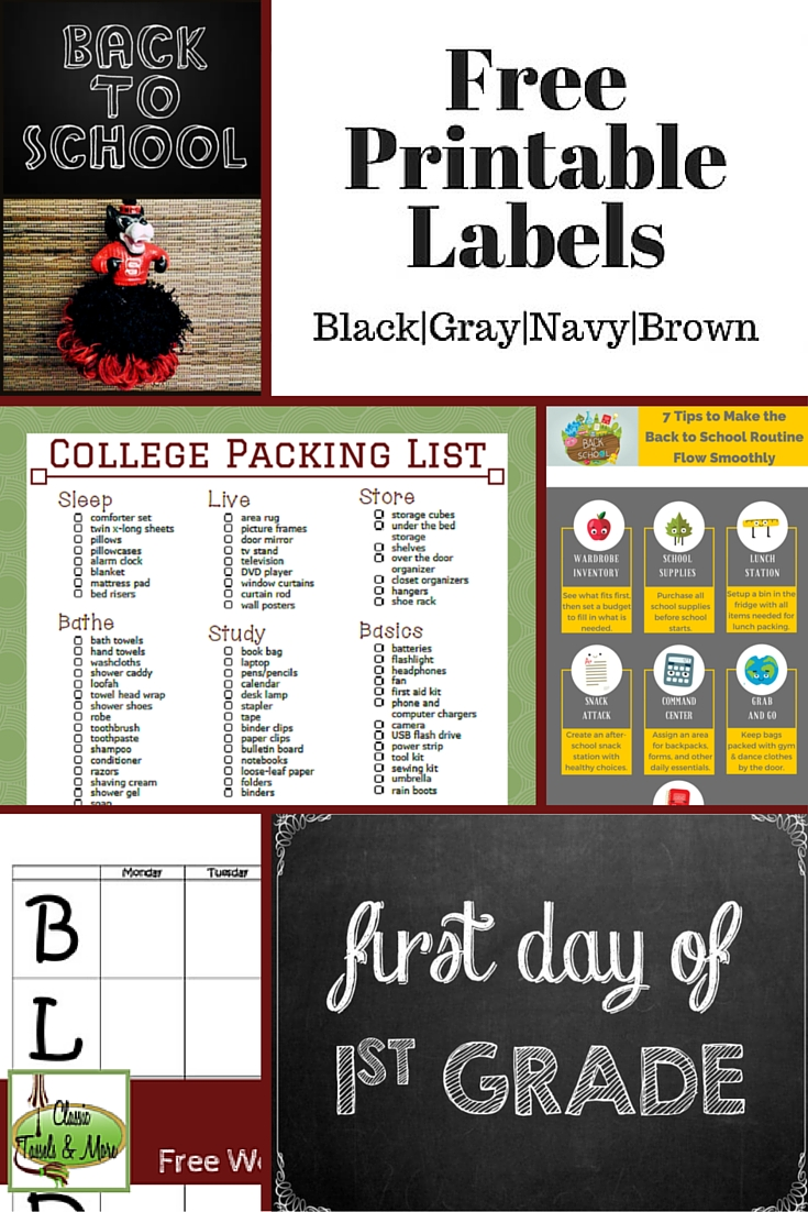 A July Mood Board: It's Back to School Season! | www.classictasselsandmore.com