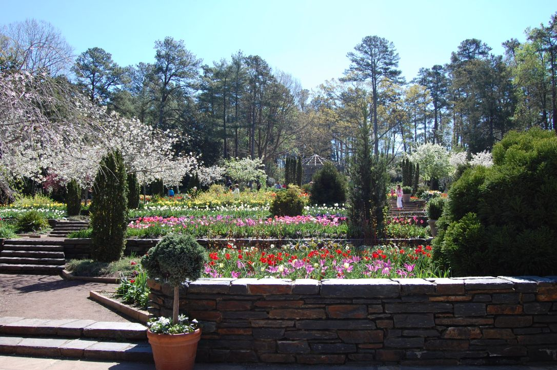 A Delightful Visit to Sarah P. Duke Gardens | www.classictasselsandmore.com