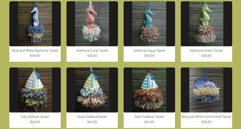 Nautical Tassel Collection | www.classictasselsandmore.com