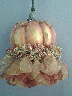 Oval Pumpkin Tassel | www.classictasselsandmore.com
