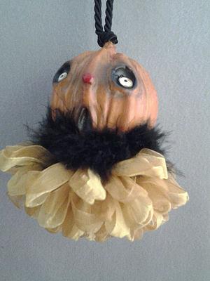 Scary Pumpkin Tassel | www.classictasselsandmore.com