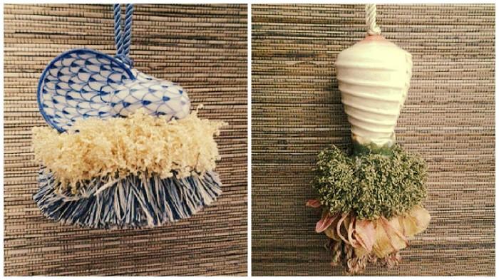 Seashell Tassels | www.classictasselsandmore.com