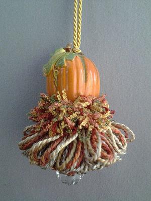 Small Pumpkin Tassel | www.classictasselsandmore.com