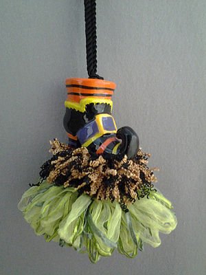 Witches Boot Tassel | www.classictasselsandmore.com