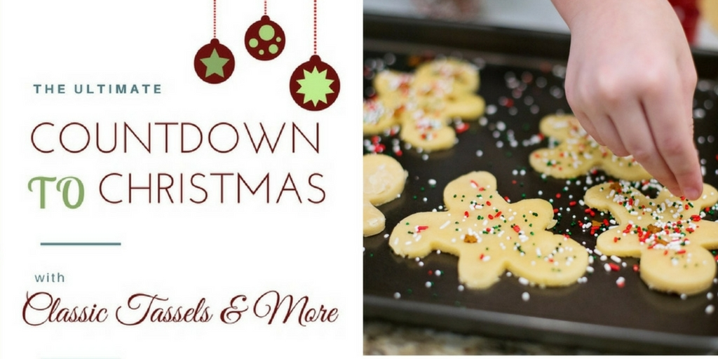 Countdown to Christmas Promo Twitter | www.classictasselsandmore.com