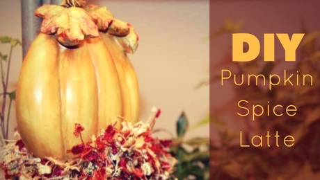 DIY Pumpkin Spice Latte | www.classictasselsandmore.com