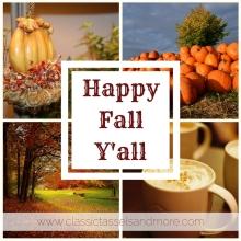 Happy Fall Y'all | www.classictasselsandmore.com