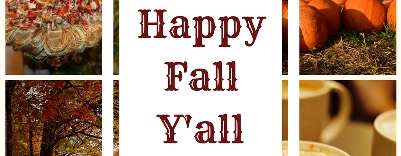 Happy Fall Y'all | www.classictasselsandmore.com