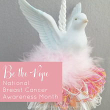 Be the Hope - National Breast Cancer Awareness Month - Instagram - www.classictasselsandmore