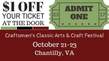 Craftsmen's Classic Chantilly Fall 2016 Coupon Cover   www.classictasselsandmore.com