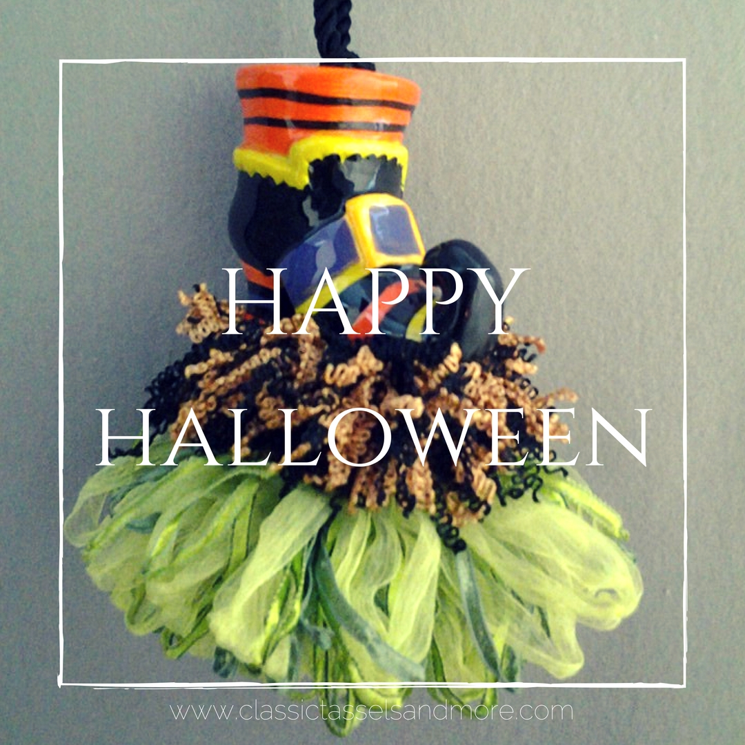 Happy Halloween | www.classictasselsandmore.com