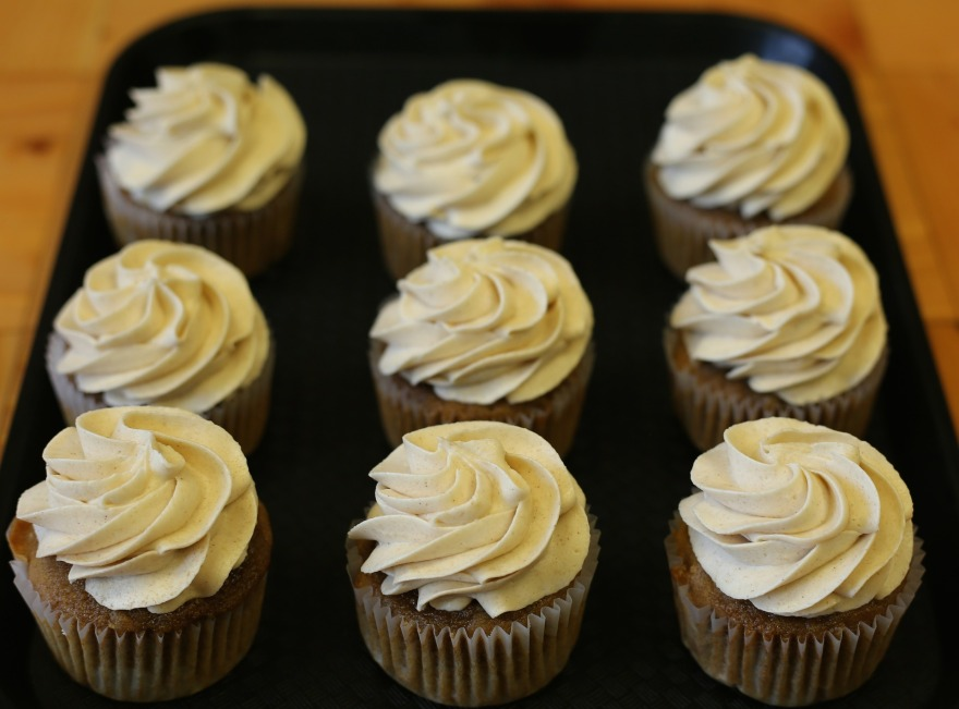 Pumpkin Muffins with Cream Cheese Icing | www.classictasselsandmore.com