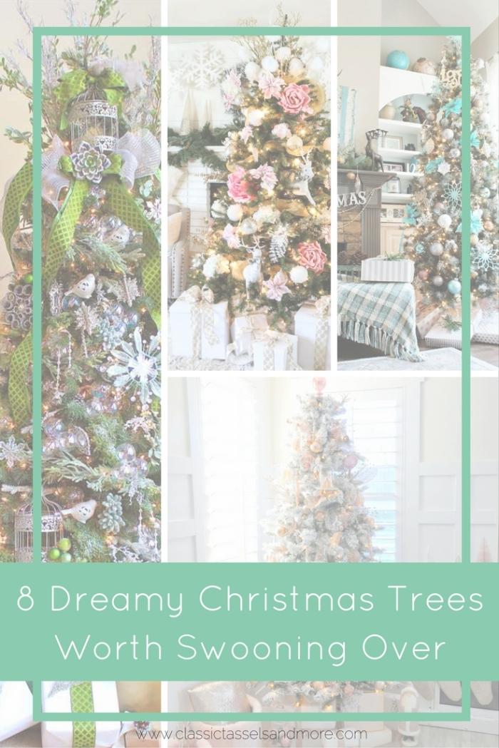 8 Dreamy Christmas Trees Worth Swooning Over - Pinterest | www.classictasselsandmore.com