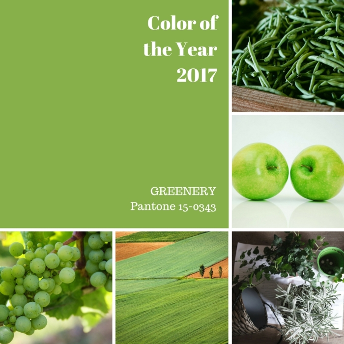 Color of the Year 2017 | Greenery | www.classictasselsandmore.com