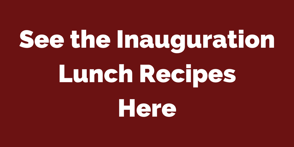 See the Inauguration Lunch Recipes | www.classictasselsandmore.com