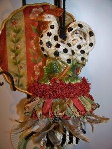 Big Dot Rooster Tassel | www.classictasselsandmore.com