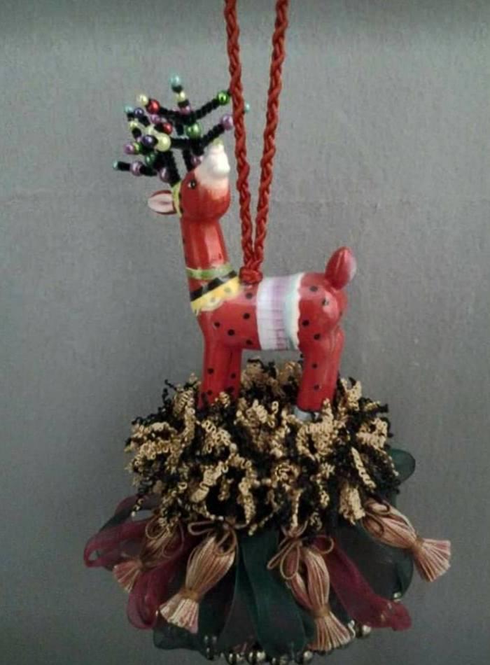 Reindeer tassel-3 2017 | www.classictasselsandmore.com