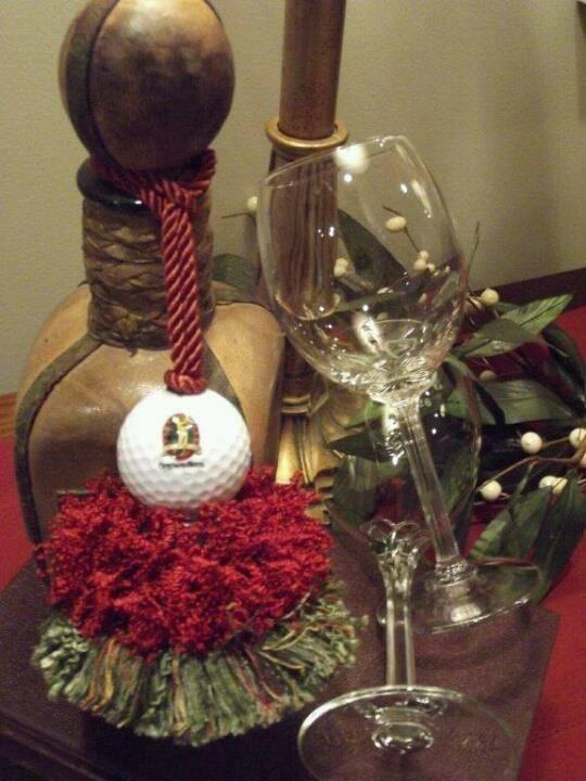 Sedgefield Golf Tassel | www.classictasselsandmore.com