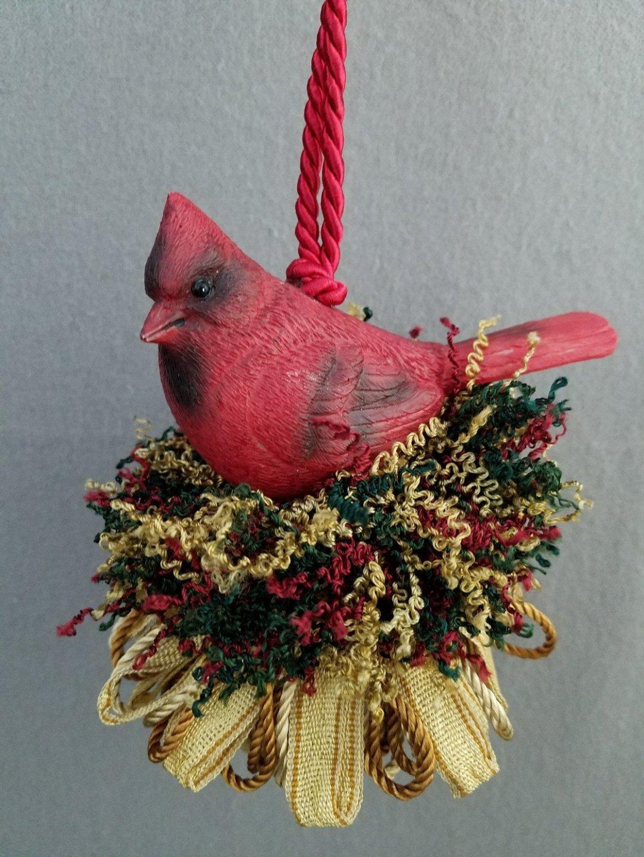 Resin Cardinal Tassel | www.classictasselsandmore.com