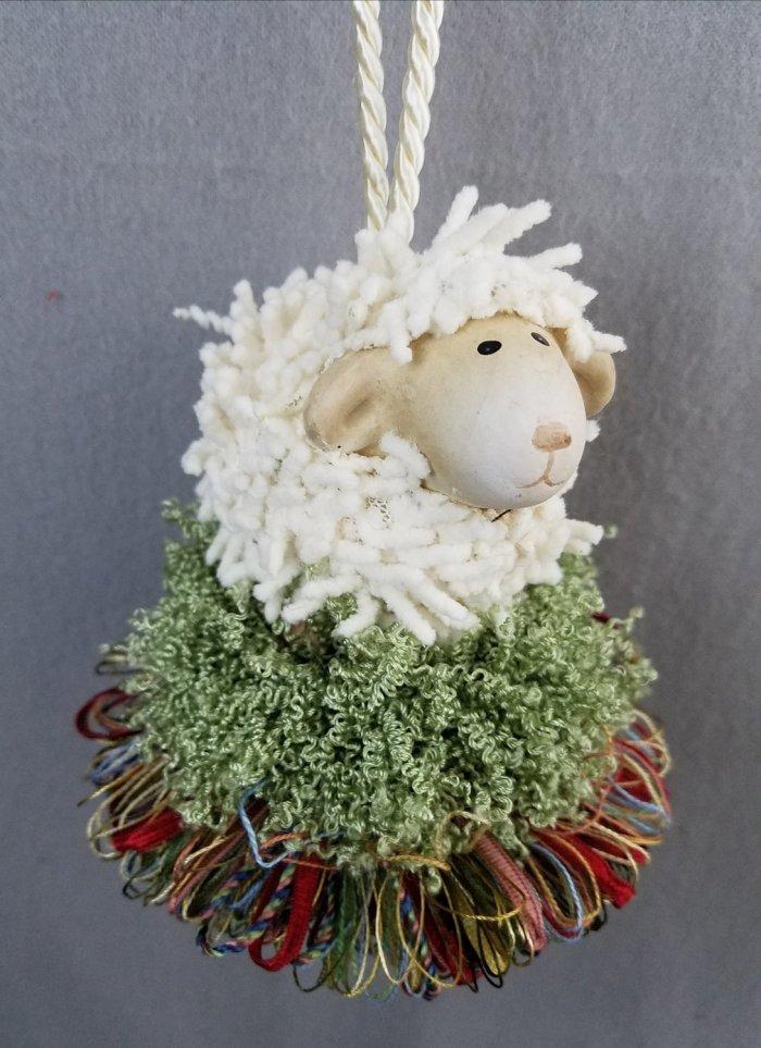 Shaggy Lamb Tassel | www.classictasselsandmore.com